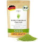 Gerstengras Pulver Bio 500g + 25g gratis I aus deutschem Anbau Bioqualität aus Bayern Gerstengraspulver vegan laborgeprüft biologischer Anbau