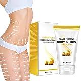 Lubudup Cellulite Creme, Perle Straffende Körperlotion Abnehmen Cellulite Massage Entfernen Stretch Marks Cream Behandlung Körper Hautpflege Gesundheit Lift Creme