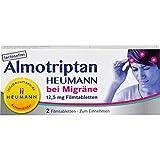 Almotriptan Heumann bei Migräne 12,5 mg Filmtabletten, 2 St. Tabletten