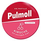 Pulmoll Kirsch zuckerfrei Halsbonbons Menthol Kirsch 20g 10er Pack