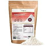 Kollagen Pulver - 600 g - Reines Collagen Hydrolysat ohne Zusätze - Herkunft: Deutschland - Geschmacksneutral - Laborgeprüft - Eiweiß-Pulver - Kollagen Peptide Typ 1 2 3 - Rinder Protein Lift Drink