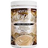 Veganer Protein Pudding mit 20,6 g Eiweiß und nur 111 kcal pro Portion – In nur 2 Minuten zubereitet, Low Sugar, Low Fat & Laktosefrei – 600 g Pulver VANILLA ICE CREAM