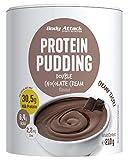 Body Attack Protein Pudding ohne Kochen, Chocolate, 210g, High Protein Puddingpulver mit 32% Protein, kalorienarm, cremig & fettarm inkl. Zink und 6,7g BCAA-schnell zubereitet- Made in Germany