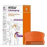 NYDA Läusespray: Erstattungsfähiges Mittel gegen Kopfläuse für Kinder und Erwachsene, 2x50 ml