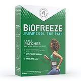 Biofreeze Schmerzpflaster, groß, 5 Stück