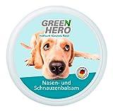 Green Hero Nasen- und Schnauzenbalsam für Hunde beruhigt pflegt und schützt trockene Hundenasen und Schnauzen bei Juckreiz Hochwertiges Balsam mit natürlichen Inhaltsstoffen 75 ml