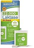 sanotact Laktase 22.000 Depot • 40 Laktose Tabletten mit Sofortwirkung und 4h Depot • Lactosetabletten bei Laktoseintoleranz + Milchunverträglichkeit