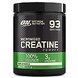 Optimum Nutrition Creatin Monohydrat Pulver, ON Kreatin hergestellt für Leistungssteigerung, 93 Portionen, 317g, Verpackung kann Variieren