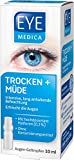 EyeMedica Trocken + Müde, Gel Augentropfen zur intensiven, lang anhaltenden Befeuchtung und Erfrischung der Augen, mit 0,3% hoch dosiertem Hyaluron für müde und trockene Augen, 1 x 10 ml Gel-Tropfen