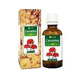 Nelke (Dianthus caryophyllus), ätherisches Öl, 100 % rein und natürlich, unverdünnt, ungeschnittenes, kaltgepresstes Aromatherapie-Öl, 50 ml