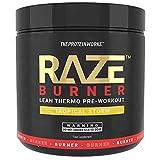 THE PROTEIN WORKS Raze Burn Advanced Pre-Workout Powder, Tropical Storm, 300 g