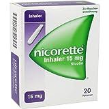 Nicorette Inhaler 15 Mg 20 St
