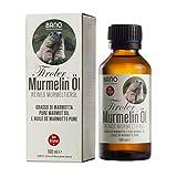 BANO Tiroler Murmelin Öl 100ml | reines Murmeltieröl | wohltuende Wirkung auf Muskeln, Gelenke und Bewegungsapparat