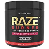 THE PROTEIN WORKS Raze Burn Advanced Pre-Workout Powder, Sour Cherry & Apple, 300 g