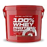 Scitec Nutrition 100% Whey Protein Professional mit extra zusätzlichen Aminosäuren und Verdauungsenzymen, glutenfrei, 5 kg, Schokolade-Cookies & Cream