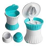 Zeaye multifunktionaler Tablettenschleifer, Drei-in-Eins-Tablettenabscheider/Pulverisierer/Tablettenschachtel, verwendet für das Upgrade kleiner Pillen, hohe Sicherheit