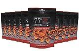Grillido Protein Chips   77% Eiweiß Nur 9% Fett   Der Eiweißreichste Snack der Welt (Paprika & Chili), 10 x 25 g