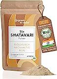 Shatavari Pulver Bio 500g I aus Indien, abgefüllt Bayern I DE-ÖKO-001