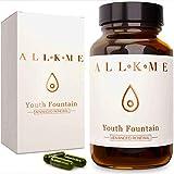 Kollagen und Hyaloronsäure Booster - VEGAN Vitamin Komplex hochdosiert: Vitamin E,C,B D, Omega 3-60 Kollagen Kapseln, Anti Aging, Anti Falten, Glutenfrei Haar Vitamin