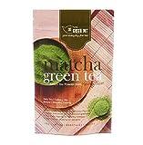 Green Pot Tea Matcha Grünteepulver 50 g - Matcha Grünteepulver aus Kyushu, Japan Hergestellt aus frischen grünen Teeblättern in Pulver gemahlen