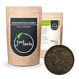 1 kg Brennnesselsamen | Aus Wildsammlung naturbelassen | Vegan | Rohkost | justaste Qualität | Brennnessel Samen ganz