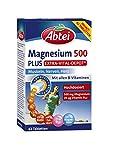 Abtei Magnesium 500 Plus Extra-Vital-Depot - für Muskeln, Nerven und Herz - hochdosiert mit 500 mg Magnesium und dem gesamten Vitamin B-Komplex - 1 x 42 Tabletten - vegan
