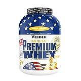 Weider Premium Whey Proteinpulver, Low Carb Proteinshakes mit Whey Protein Isolat, Vanilla-Caramel, (1x 2,3 kg)