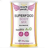 Shape Angel für Frauen - Bio veganer Superfood Body Mix - 200 g - Nahrungsergänzungsmittel für Frauen - 100% Natürlich - Laborgeprüft - Made in Germany