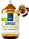 DMSO 1000ml pharma Qualität 99,9% Dimethylsulfoxid - unverdünnt pharmazeutische Reinheit