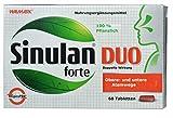 Sinulan Duo forte, 60 Tabletten - für obere und untere Atemwege, erkältung, nebenhöhlenentzündung, schleimlöser bronchien, nebenhöhlen frei machen