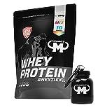 Mammut Whey Protein Eiweißshake Flavour Mix (10 x 25 g) - Set inkl. Protein Shaker oder Powderbank