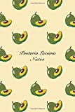 Pouteria Lucuma Notes: 6'x9' Unruled Blank Notebook Watercolor Texture Design Tropical Organic Fruit Pattern Cover. Matte Softcover Note Book Journal