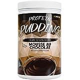 Veganer Protein Pudding mit 19,9 g Eiweiß und nur 110 kcal pro Portion – In nur 2 Minuten zubereitet, Low Sugar, Low Fat & Laktosefrei – 600 g Pulver MOUSSE AU CHOCOLAT