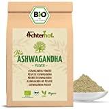 Ashwagandha Pulver BIO (500g)   100% ECHTE Ashwagandhawurzel gemahlen aus Indien   indischer Ginseng   Ayurveda
