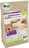 Bio Ashwagandha Pulver 500g - 100% Bio Qualität - indischer Ginseng- Premium Qualität - Abgefüllt in Germany