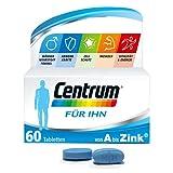 Centrum Für Ihn Multivitamin, Von A bis Zink Nahrungsergänzungsmittel mit Vitamin D, C, B12, Magnesium, 60 Tabletten