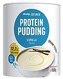 Body Attack Protein Pudding ohne Kochen, Vanilla, 210g, High Protein Puddingpulver mit 32% Protein, kalorienarm, cremig & fettarm inkl. Zink und 6,7g BCAA-schnell zubereitet- Made in Germany