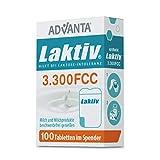 ADVANTA Laktiv 3.300 FCC, 100 Laktase-Tabletten im praktischen Spender