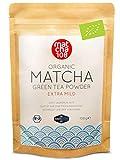 Matcha Tee Pulver   Bio Zeremonie Qualität für extra milden Teegenuss   Ideal für Tee, Smoothies und Lattes   108g, DE-ÖKO-039 Zertifiziert, [Ceremonial Grade Green Tea] vom Matcha 108