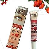 Bulary Goji Augencreme, rot, feuchtigkeitsspendend, Augencreme, Anti-Aging, Anti-Falten, Anti-Ermüdung, entfernt Augenbeutel, Augenringe, Hautpflege, Verbesserung der Haut, 30 g