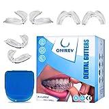 [6 in 1]Anti-Bruxismus Zahnschiene - Profigerät - Thermosensitiv - nächtlich - ATM-Behandlung - vermeidet Zahnknirschen - Erwachsene & Kinder - 100% Zufriedenheitsgarantie