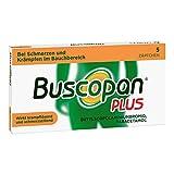 Buscopan PLUS Zäpfchen mit Paracetamol, bei Bauchschmerzen 5 stk