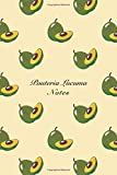 Pouteria Lucuma Notes: 6'x9' Notebook Watercolor Texture Design Fruit Pattern Cover. 108 Blank Lined Pages Matte Softcover Note Book Journal