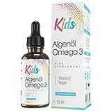 Algenöl Omega 3 Tropfen Kids, speziell für Kinder, laborgeprüft und vegan - Made in Germany - MVN®