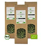 Moringa Presslinge '3x 200 Stück' (500mg Tabletten / Kapseln) - zertifizierte Bio Qualität (DE-ÖKO-005) (Blattpulver - Vegan)