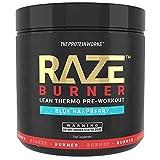 THE PROTEIN WORKS Raze Burn Advanced Pre-Workout Powder, Blue Raspberry, 300 g