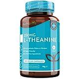 L-Theanin 350mg - GABA Alternative - Hochwertiges Premium L-Theanin - 120 vegane Kapseln - Koffeinfrei - GMO-Frei - Allergenfreie Nahrungsergänzungsmittel - Hergestellt in Großbritannien von Nutravita