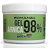 BidMamba Arnika-Gel 98% 500ml | Arnika Salbe Hochkonzentriert , Entzündungshemmende Salbe, Schmerzgel Entzündungshemmend Stark, Gelenkschmerzen Salbe, Schmerzsalbe Stark Entzündungshemmend