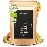 Triphala Pulver bio 250g Laborgeprüft, 100% Natürlich, ballaststoffreich | Indisches Ayurveda Gewürz gewonnen aus Amalaki, Haritaki & Bibhitaki | Triphala schonend fein gemahlen vegan