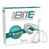 Zahnschiene Knirschen gegen Bruxismus Dulàc Pharma, Medizinisches Gerät - Knirscherschiene für Nacht (Auch für den Einsatz am Tag geeignet), Aufbissschiene, der sich den Zähnen Anpasst